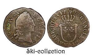 1/2 Sol 1770 & (?) (Aix). Louis XV°. France. Cuivre