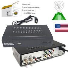 HD ATSC Antenna Signal Digital TV BOX Converters Receiver PVR HDMI Player 1080P