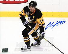 Chris Kunitz Pittsburgh Penguins Signed Autographed Home Action 8x10