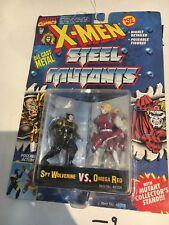 1994 TOZ BIZ X-Men Steel Mutants Spy Wolverine VS.Omega Red