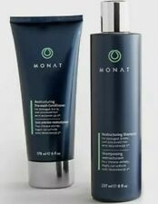 MONAT Set Duo Restructuring Hair Care Shampoo +Pre wash conditioner US Vegan.New