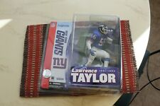LAWRENCE TAYLOR, NFL LEGENDS 1, BLUE JERSEY MCFARLANE, NEW YORK GIANTS