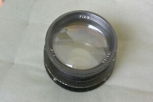 Air Ministry 8 inch F2.9 Lens - A.M. 14A / 780 - - Possibly Dallmeyer Or Ross??