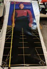 """1993 Star Trek CAPTAIN PICARD The Next Generation 74""""x26"""" Door Poster LADZ05"""