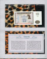 *Most Treasured Banknotes Armenia 1993 10 Drams UNC P 33