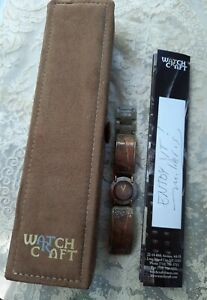 WATCHCRAFT MILIERIS COPPER WATCH WITH BOX AND SIGNED CERTIFICATE  20/1000