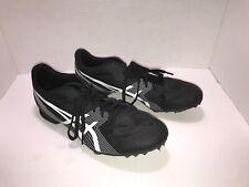 Men's Asics Track Spike Shoes, Black [Size 8.5]
