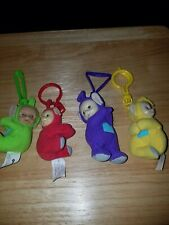 2000 Ragdoll Teletubbies Plush Clip On Set