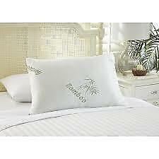 "== Botanical Comfort Bamboo Pillow Jumbo/Queen 20' x 28"" Anti-Microbial NEW"