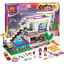 Friends Series Livi's Pop Star House Building Blocks Andrea mini-doll Toy 10498