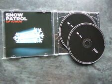 UP TO NOW THE BEST OF SNOW PATROL DOUBLE CD ALBUM