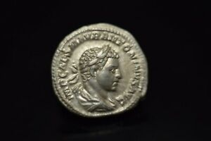 Elagabalus AR  Denarius. 218-AD 219./N51