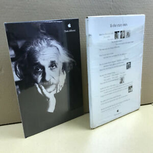 SEALED SET of 3 x 10 Think different campaign posters in box - Apple Computer