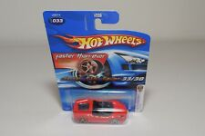 V 1:64 161 HOTWHEELS FERRARI F430 F 430 SPIDER RED MINT ON LONG CARD ERROR RARE!