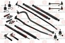 For Dodge RAM 2500 02 Ball Joints Tie Rods Sway Bar Link Shock Absorber New 4WD