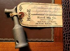 NEW-OLD stock, ANTIQUE  Brass Transom Window Latch Hook, H & E Picture Rocks, Pa