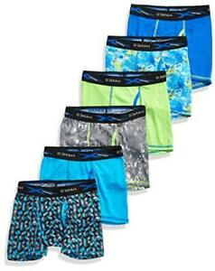 Hanes Boys' Boxer Brief, Assorted Prints &, Assorted Prints & Solids, Size Small