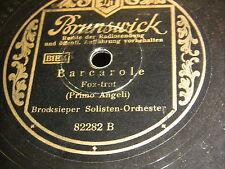 9/1R Brocksieper Solisten Orchester - Excentrie - Barcarole