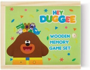 Hey Duggee Wooden Memory Game