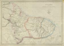 'Guiana Comprehending British, Dutch & French' Suriname Guyana.  LOWRY 1862 map