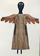 BLACK FOLK ANGEL Primitive Black Folk Art Doll Pattern by Sunnyknoll Art&Crafts