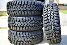 4 New Crosswind M/T Lt 285/70R17 121/118Q E 10 Ply Mt Mud Tires