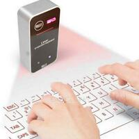 Keyboard Bluetooth Wireless Laser Projection Virtual For Smart Phone PC Tablet