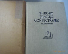 Theory and practice of the confectioner Konditorei 3 Spachig Span. engl. Franz.