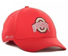 purchase cheap 24709 0671c Nike Men s Ohio State Buckeyes Scarlet Dri-fit Swoosh Flex Performance Hat