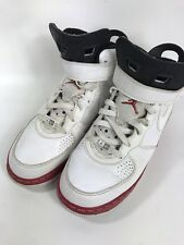32f58c94f12473 Air Jordan Men s Dub White Concord Red Black High Top Size 7 W  Box