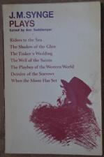 J.M. SYNGE Plays Oxford paperback book 1969 PLAYBOY OF THE WESTERN WORLD drama