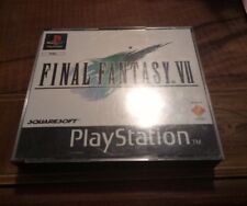 FINAL FANTASY 7 PLAYSTATION PRIMA EDIZIONE PAL COMPLETO CONTOVENDITA