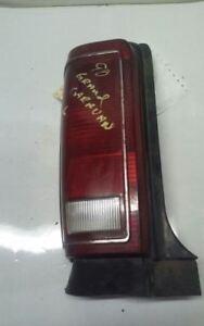 Driver Left Tail Light Without Chrome Moulding Fits 87-90 CARAVAN 31179