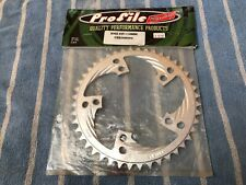NEW Profile Racing BMX Sprocket 44t 110 BCD Aluminum Bike Chainring NOS