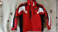 SPYDER WARM ski KIDS 9-10Y OUTWEAR JACKET RED/BLACK/WHITE DI