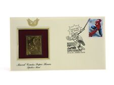 Spider-Man Gold Edition USPS Stamp First Day Issue Marvel Comics Heroes 2007