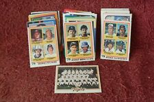 LOT of FIFTY-SIX (56) ASSORTED Alan TRAMMELL/Jack MORRIS (HOF) Baseball CARDS