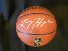 LARRY HUGHES (76er's, Bulls, Magic, Warriors, et al) signed NBA Basketball