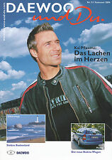 Daewoo et tu 31 04 2004 Kai prune NUBIRA wagon automobile salon Genève Navi