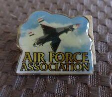 AIR FORCE ASSOCIATION~Wild Blue Yonder~Fighter Jet Tack Pin