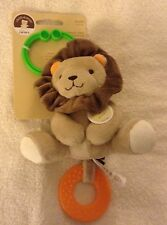 Baby Carter's Chime & Chew Cuddly Lion Teether Teething Toy Baby Shower Gift