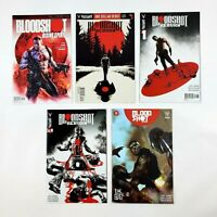 Bloodshot Reborn Valiant Comic Book Lot $1 Debut #1 3 13 & Rising Spirit Preview