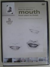 Darrel Tank's 5-pencil method- How to Draw a Mouth from start to finish (DVD)