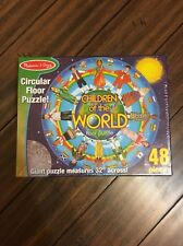 Melissa And Doug Floor Puzzle Children Of The World
