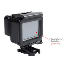 Waterproof Black Housing Cover Touch Screen Protective For GoPro Hero 5 Camera