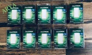 (10 PCS)Lutron Sunnata Touch Dimmer STCL-153PH-WH White LED+ Advanced Technology