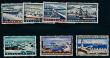 Greece C74-80 Mint NH air mail, ships