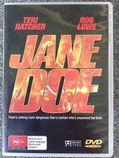 JANE DOE stars Teri Hatcher Rob Lowe - BRAND NEW DVD #1328