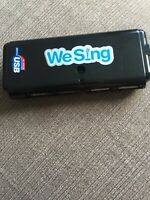 WeSing USB Microphone 4-Port Hub Official Hi-Speed 2.0 We Sing Wii Ps3 Xbox Pc