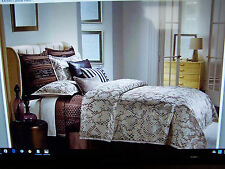 Jennifer Lopez deluxe COMFORTER SET QUEEN TAUPE ANIMAL PRINT CLOSEOUT Retired